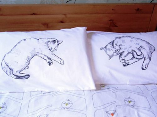 Cat Nap Pillow Cases (Pair)